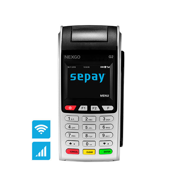 SEPAY Mobiel Wifi Pinapparaat Kopen