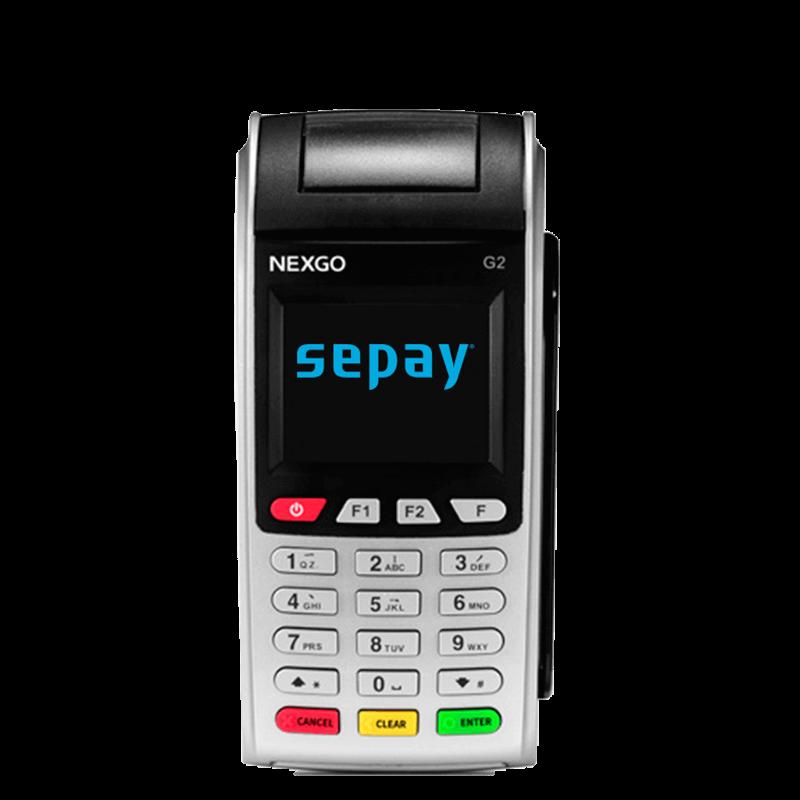 SEPAY Mobiele Pinautomaat - Voorzijde