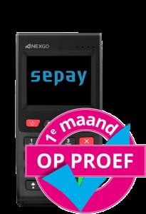 SEPAY Mini - 1 Maand op Proef
